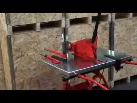 Sheet metal cutting and bending Machines