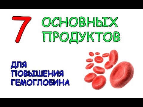 Список продуктов для повышения гемоглобина - топ-продуктов