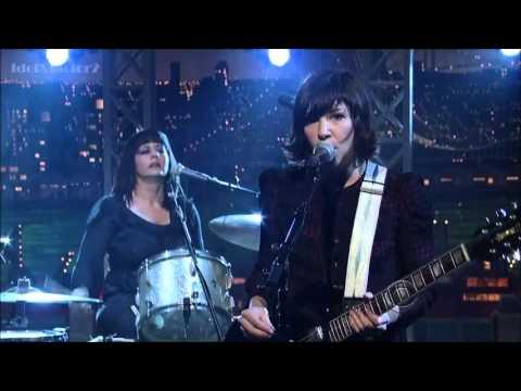 Wild Flag - Romance (Live on Letterman)
