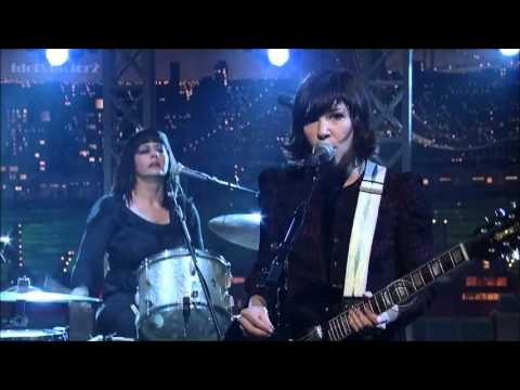 Wild Flag  Romance Live on Letterman