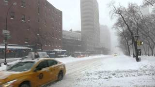 SoHo New York City Snow Storm Jonas 2016