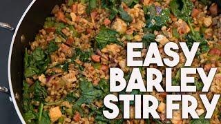 Barley Stir fry