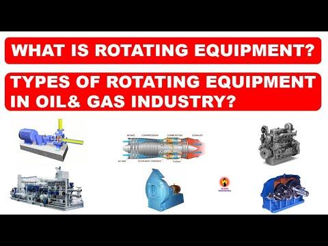 MAJOR ROTATING EQUIPMENT IN OIL& GAS INDUSTRY / OIL& GAS PROFESSIONAL