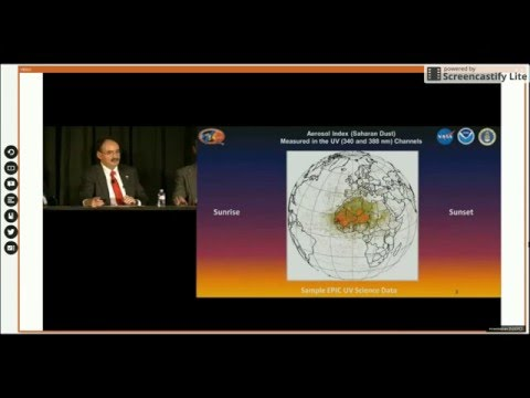 2015 AGU Fall Meeting: The Earth from a Million Miles Ft  Gore, Szabo
