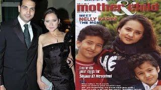 صور لم تراها من قبل للنجمة نيللى كريم مع زوجها وأولادها