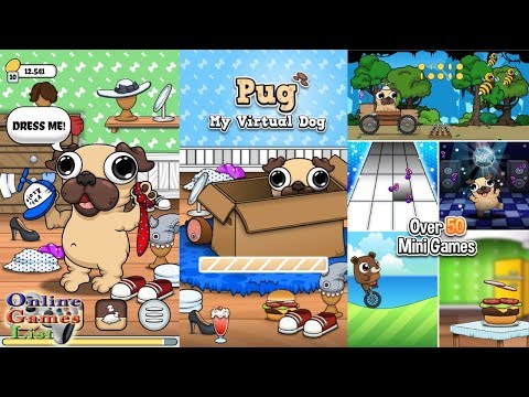 Pug - My Virtual Pet Dog Android Gameplay HD