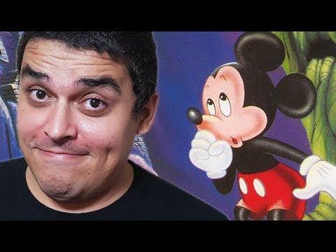 Um Dos Melhores Jogos do Mickey Mouse - Castle of Illusion
