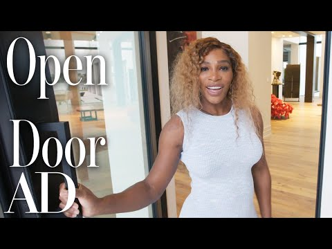 Inside Serena Williams' New Home With A Trophy Room & Art Gallery | Open Door | Architectural Digest