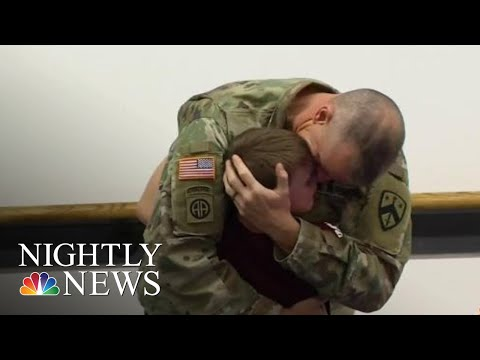 Carmen - Grab a Tissue: Soldier Surprises Son In Emotional Video