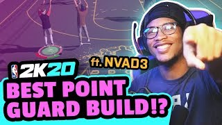 BEST SHOOTING POINT GUARD BUILD in 2K20 feat. NVAD3
