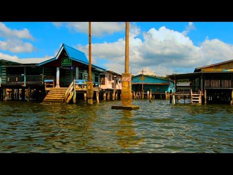 The Water Village (Kampong Ayer), Bandar Seri Begawan, Brunei GoPro 1080p
