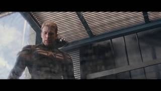 Первый Мститель: Другая война – Сцена в лифте | 1080p