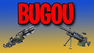 ELIMINATIONS WITH MINIGUN OR LMG IS BUGADA-Fortnite Battle Royale