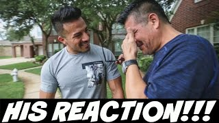 I Bought My Dad A Car... This is His Reaction!!! thumbnail
