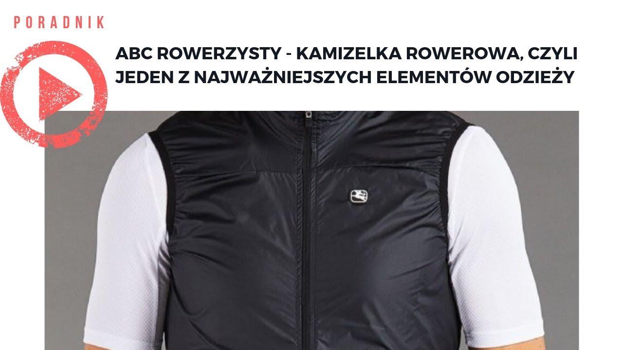 a633d39de44dc ABC Rowerzysty - Kamizelka rowerowa, czyli jeden z najważniejszych  elementów odzieży