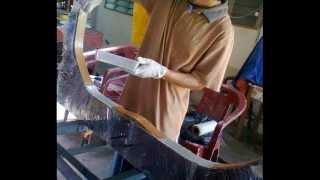 Making Turkish Style Fibreglass Bow