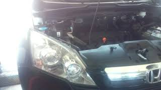 Honda  CR-V габариты вместо тормоза. Дефект задних фонарей