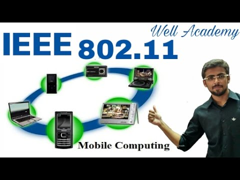 Wireless Communication Lecture - -  IEEE 802.11 Architecture | Services (Eng-Hindi)