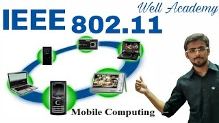 wireless communication lecture ieee 802 11 architecture   services eng hindi