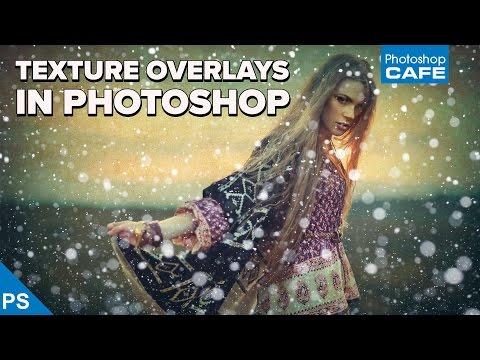 TEXTURE Overlay In PHOTOSHOP, INSTANT Digital ART