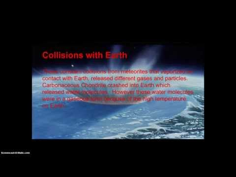 How Oceans And Atmosphere Formed