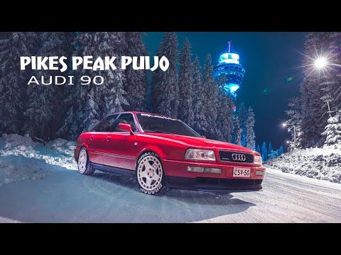 Pikes Peak Puijo - Audi 90 By JTmedia 4K