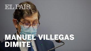 Manuel Villegas DIMITE su escándalo de la vacunación en MURCIA | La crisis del #CORONAVIRUS