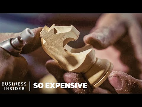 Why Championship Chess Sets Are So Expensive | So Expensive