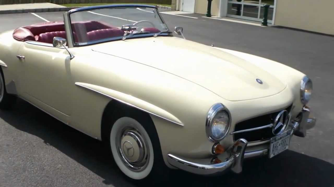1959 mercedes benz 190sl for sale recent nut bolt for Mercedes benz 190 for sale