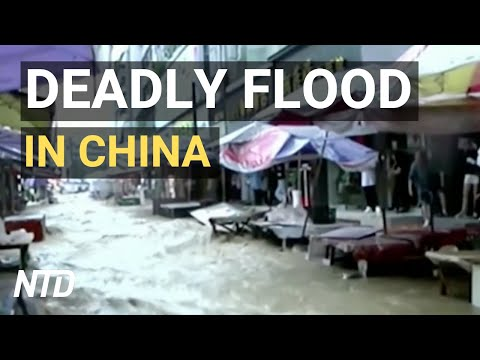 Deadly Flood In China Affects Millions