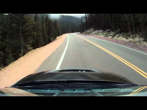 Jeremy Foley Pikes Peak Full length roof cam