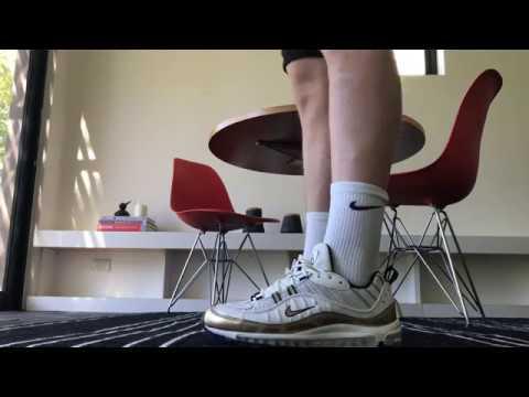 watch 2849f e99d3 Nike Airmax 98 GMT on feet! Best Airmax 98?!