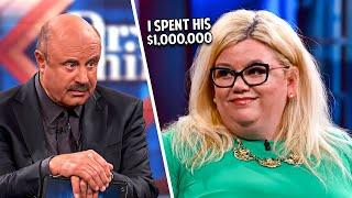 Shameless Gold Digger Spent Millions... Then Left.