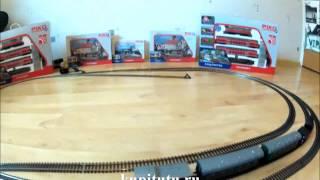 Макет железной дороги PIKO ABCE модели железных дорог(Купите этот рельсовый набор в интернет-магазине Kupitutu.ru ! На видео: рельсовый набор PIKO ABCE. Входит в наборы..., 2013-02-13T18:42:47.000Z)