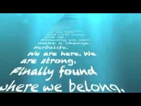 HERBALIFE song Lyric   We are here by Ace Young
