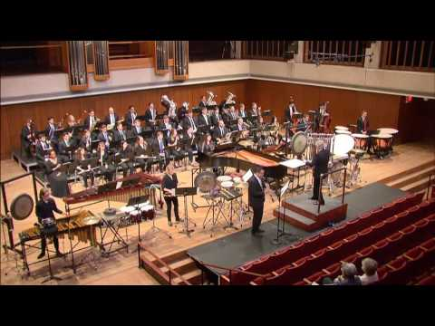 Joseph Schwantner - Luminosity - UT AUSTIN Wind Ensemble 05.01.2016