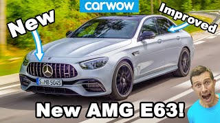 New Mercedes-AMG E63 2021 - they've made it even BETTER!