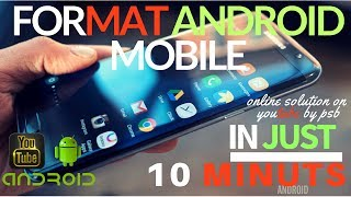 How to format android mobile phone