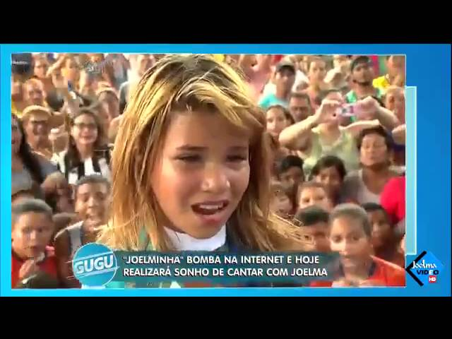 Joelminha Kids no Programa do Gugu 06/07/2016