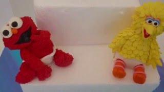 Baby Sesame Street Cake Topper Ideas Elmo Cookie Monster Abby Caddabby