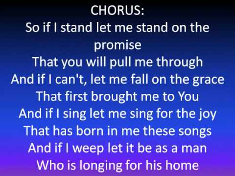 If I Stand by Rich Mullins (Lyrics)