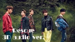 샤이니 shinee   rescue 3d audio ver