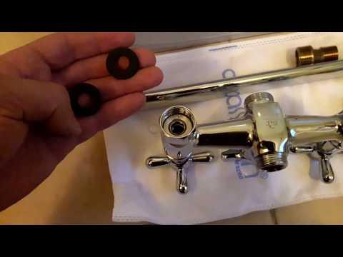 Как поменять смеситель в ванной своими руками видео