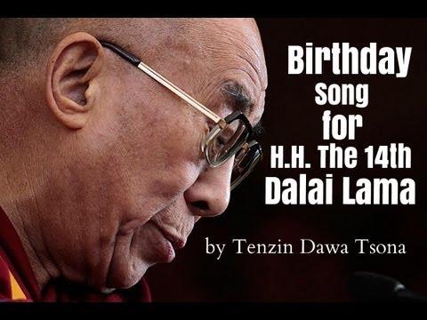 Dawa - Birthday Song For H.H. The Dalai Lama [ Audio ]