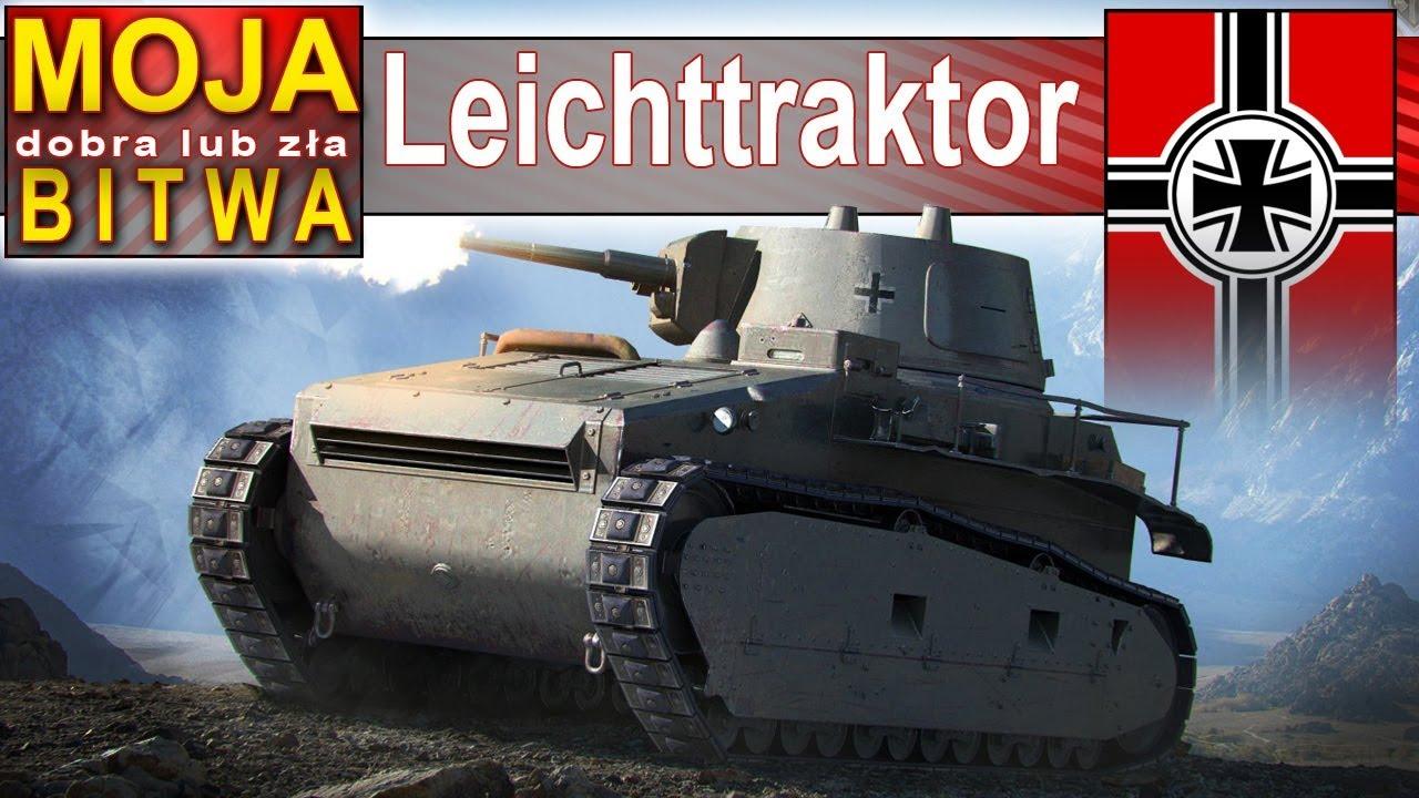 Leichttraktor – pierwsza bitwa w nowym World of Tanks :)