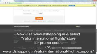 How to use Yatra coupons
