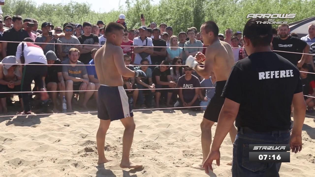 Бой Якутских уличных бойцов