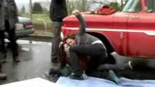 Twilight видео со сьемок фильма(, 2009-01-03T11:45:49.000Z)