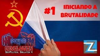 Geo-Political Simulator 4 - Russia [1] Iniciando a Brutalidade #gps4 PT-BR
