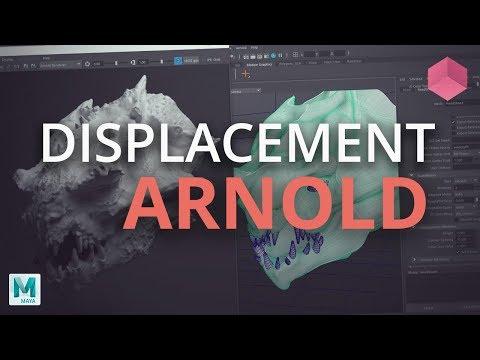 ZBrush to Arnold for Maya -  32 Bit Displacement UDIM Tutorial